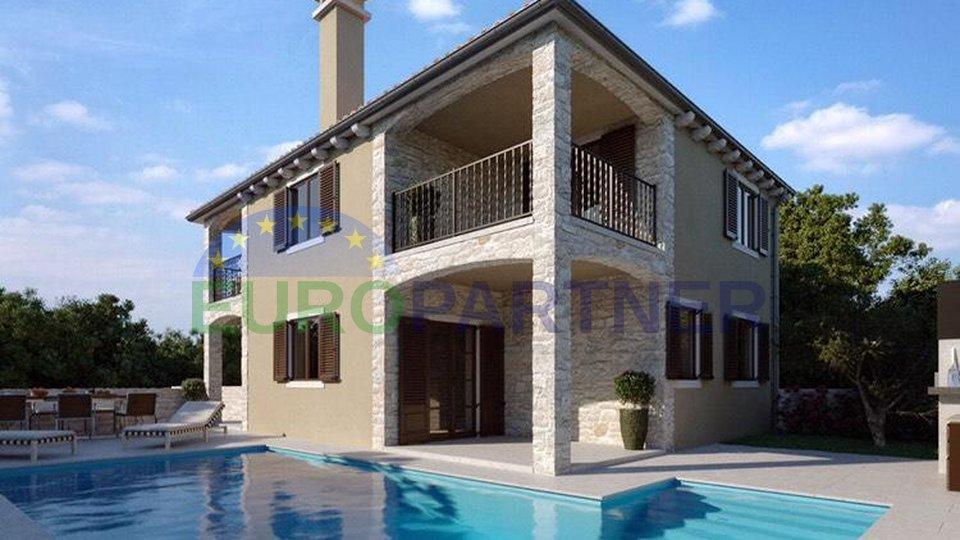 Casa bifamiliare in costruzione, vicino a Parenzo