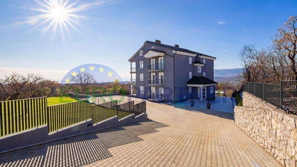 Appartamenti di nuova costruzione con piscina e vista mare, vicino a Opatija