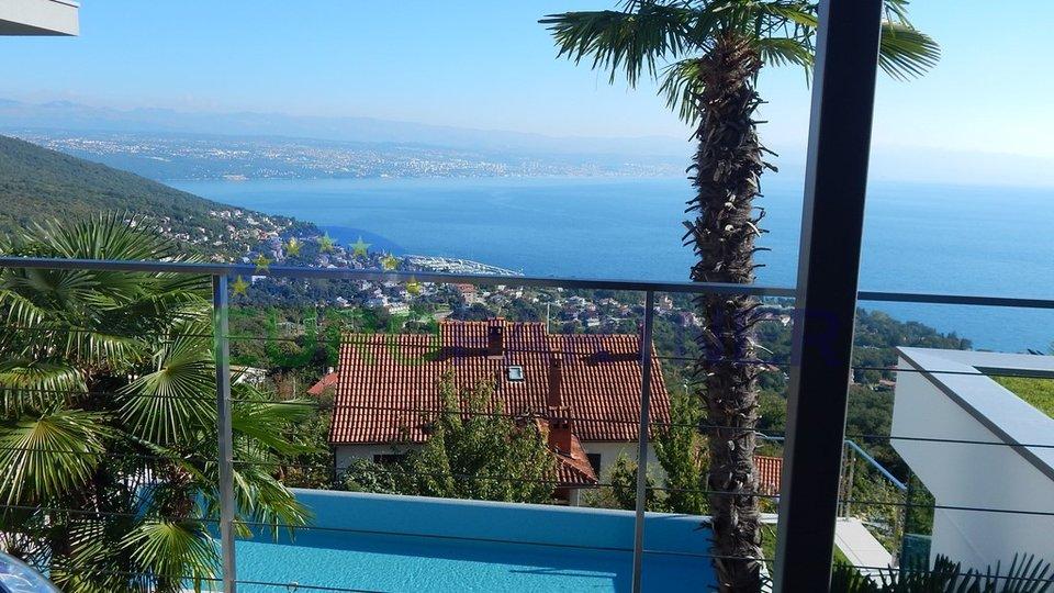 Vrhunska vila sa otvorenim pogledom na more - Lovran