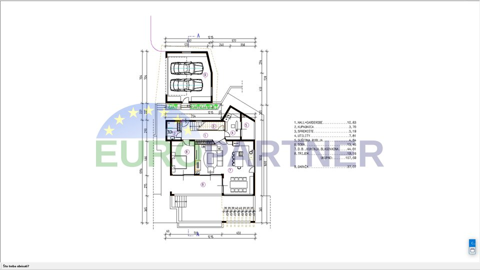 Building plot Kostrena