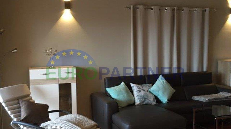 Predivan stan sa galerijom 1000m od mora Vabriga