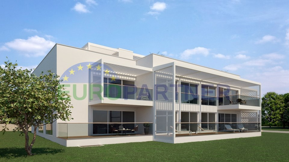 Luxury apartments in new building 200m from the sea Rovinj