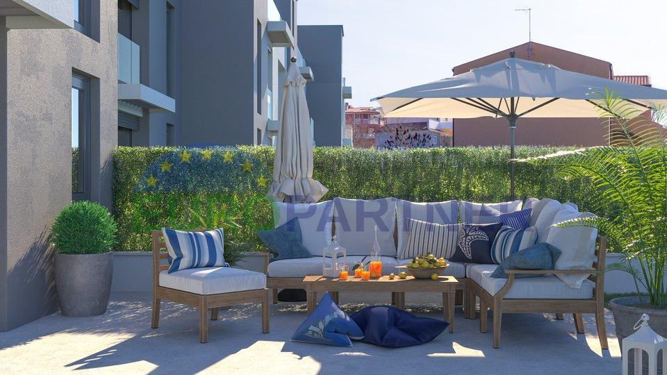 Moderni stanovi u izgradnji sa pogledom na more, Poreč