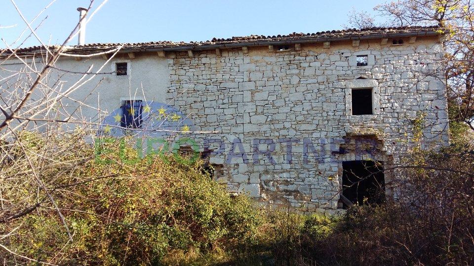 RARITET NA TRŽIŠTU- Istarska Stancija sa tri kuće, pogledom na more i 76.600m2 zemljišta, Vodnjan