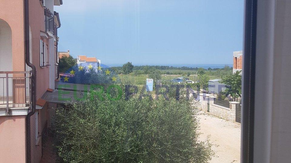 Schöne Wohnung mit Blick aufs Meer, 500 m vom Strand