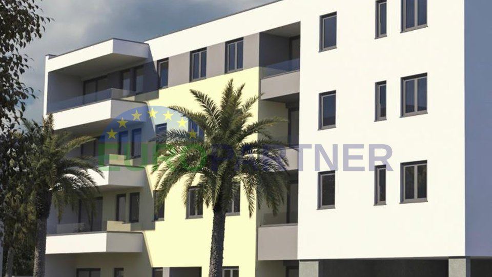 Excellent apartments in a new building, Solin