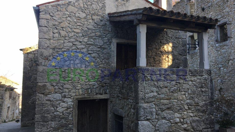 Renovirana autohtona istarska kuća, Pićan