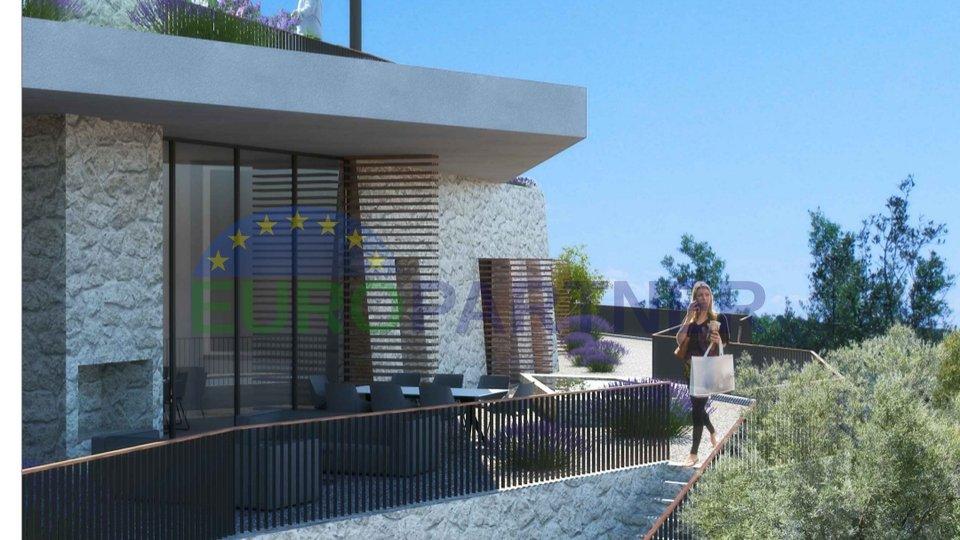 Zemljište uz more sa kompletnim projektima za vile