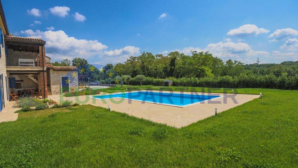 Impresivna Istarska kamena Vila s bazenom