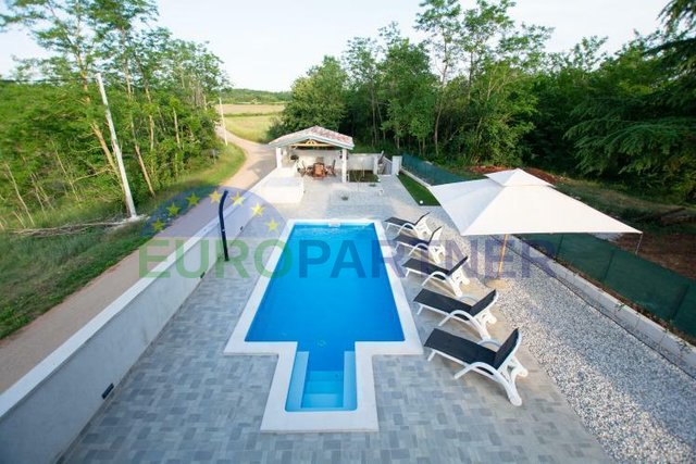 Renovated stone house with pool near Visnjan
