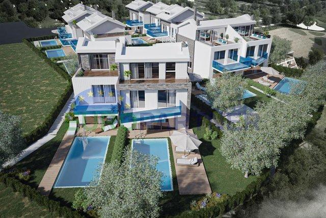 Luksuzne vile u Poreču, atraktivna lokacija, 70 m od plaže