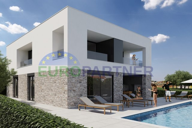 Porec - Detached luxury villa with sea view and pool