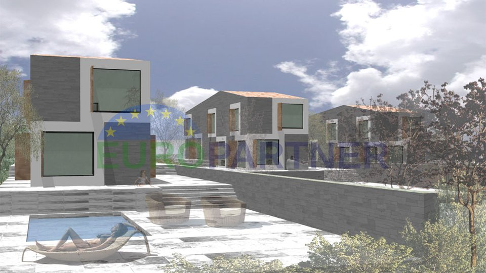 Attractive building land, parcelized, between Pula and Rovinj